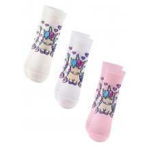 """Подарочный набор носков для девочек """"Единорог"""""""